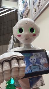 国際ロボット展2015 Pepper