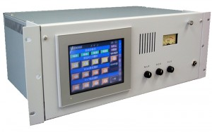 カラータッチパネル型放送音声制御装置