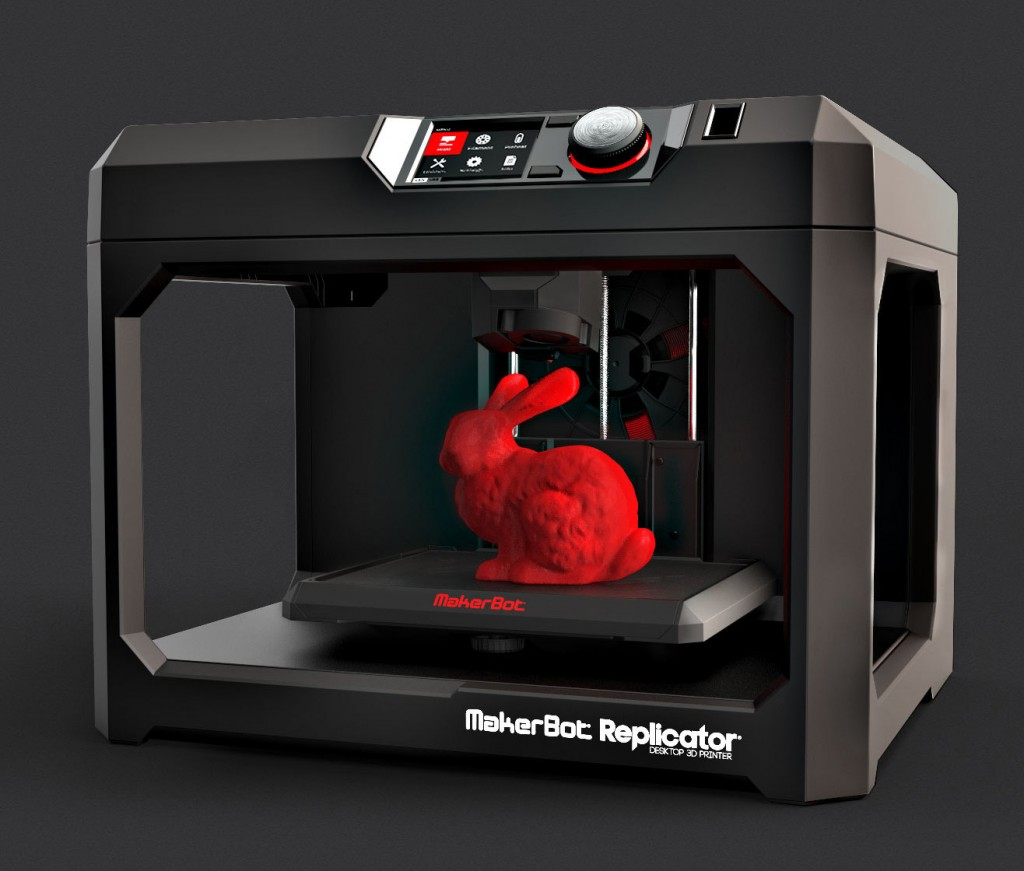パーソナル3Dプリンター MakerBot Replicator (5th Generation Model)