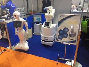 国際ロボット展 MEMOテクノスブース